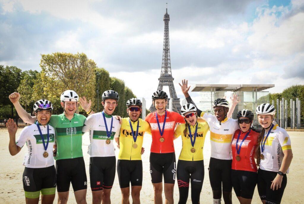 London-Paris jersey competition