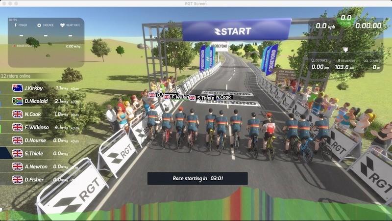 PPA DC Virtual Start line