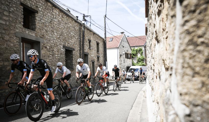 London-Paris by Tour de France village