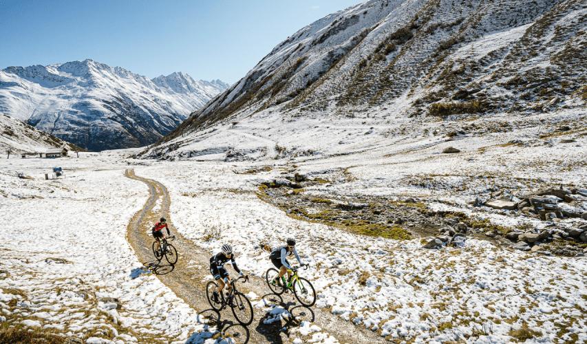 Suisse Gravel Explorer snow