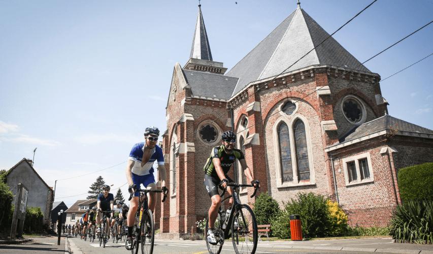 London-Paris by Tour de France Church