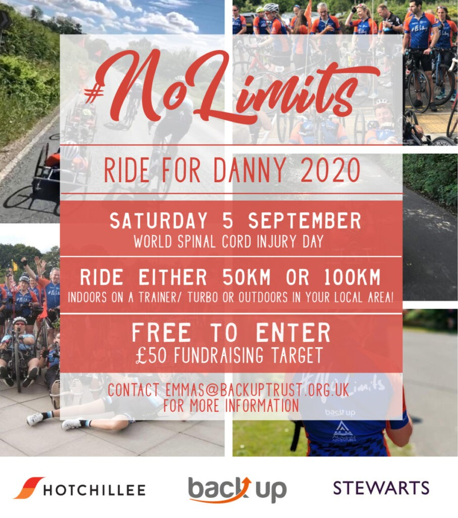 Ride for Danny 2020