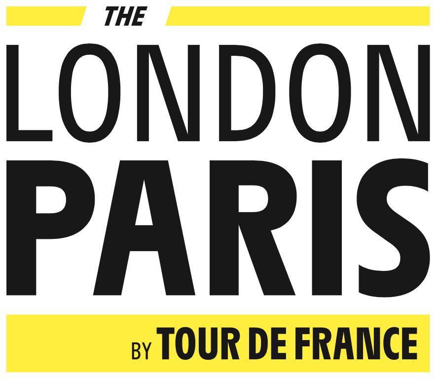 LONDON-PARIS by Tour de France logo
