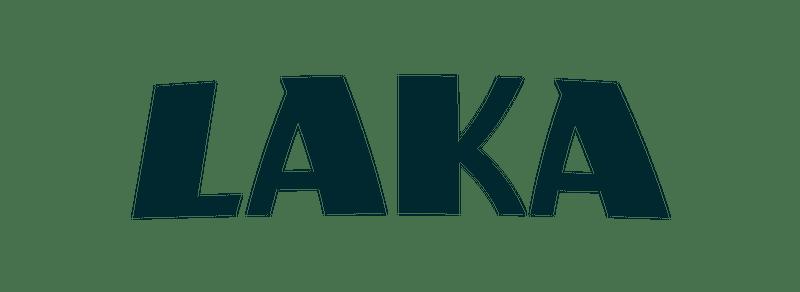 Laka logo navy