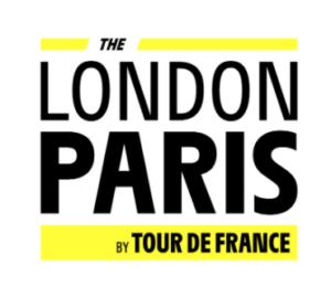LONDON PARIS BY TOUR DE FRANCE LOGO