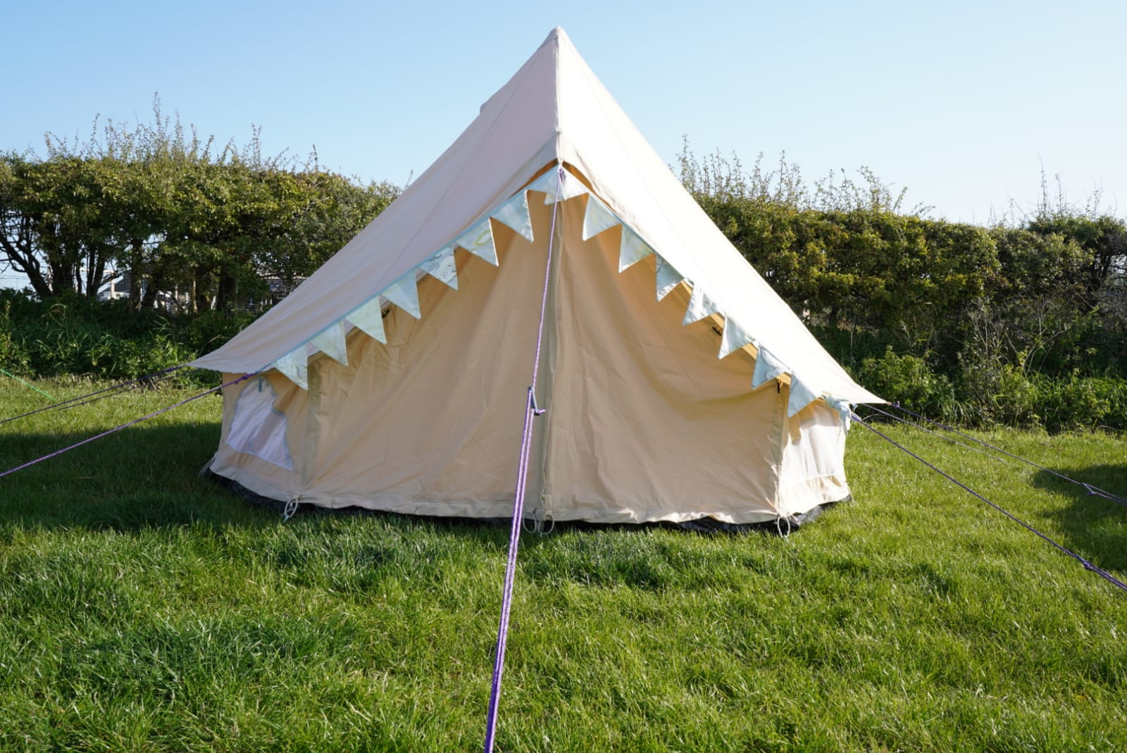 Wild Cycles Bell tent