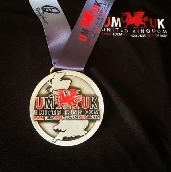 Ultraman UK medal