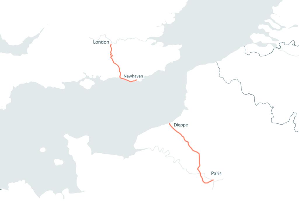 THE LONDON_PARIS by Tour de France Gravel
