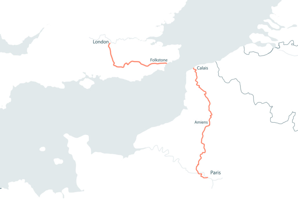 THE LONDON_PARIS by Tour de France Road