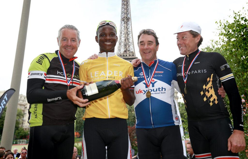 The London-Paris by Tour de France - Nic Dlamini